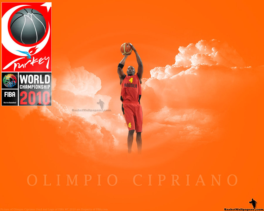 Olimpio Cipriano FIBA World Championship 2010 Wallpaper