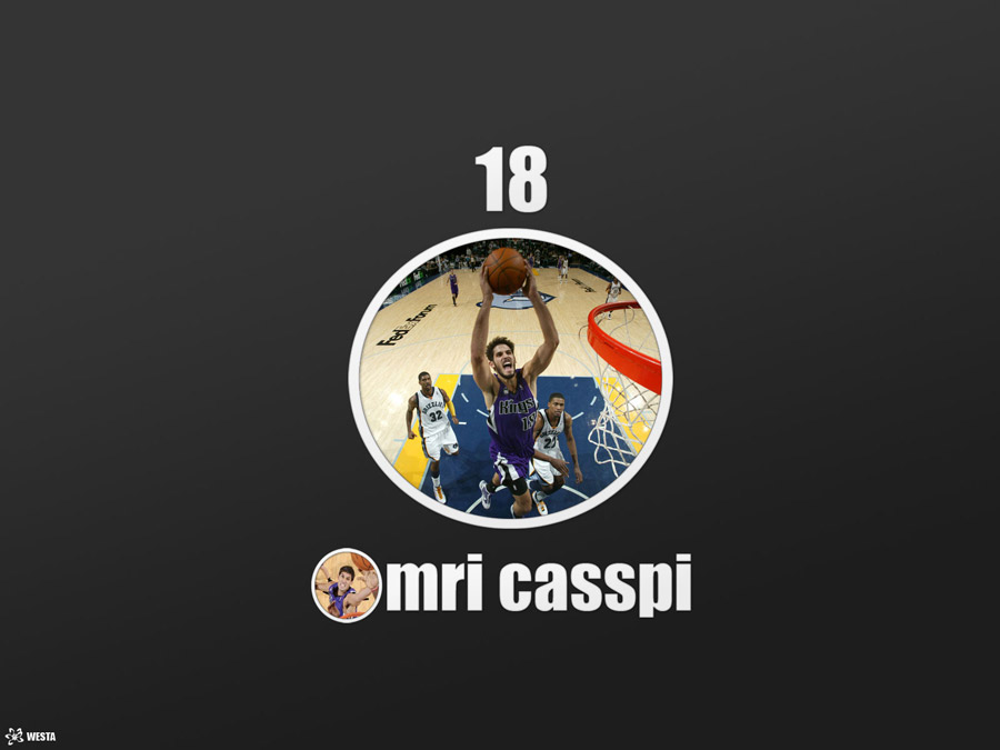 Omri Casspi Kings Wallpaper