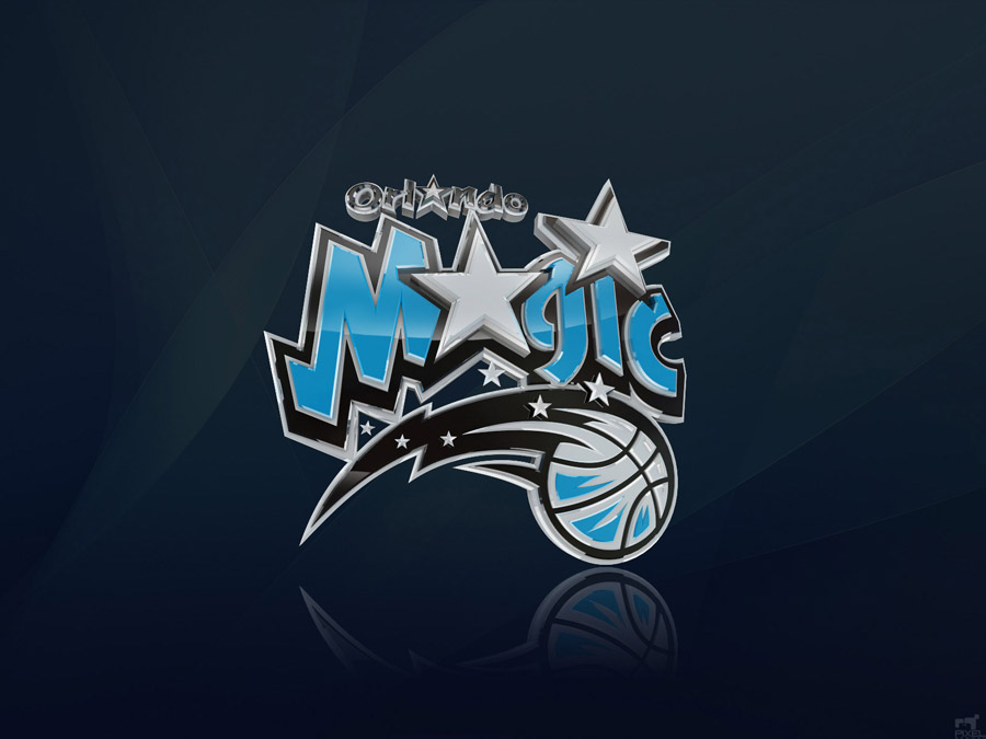 Orlando Magic 3D Logo Wallpaper