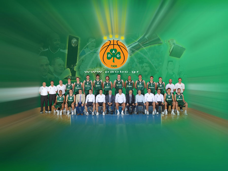Panathinaikos 2009 Team Wallpaper