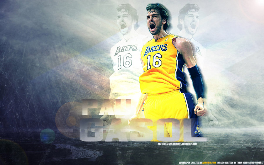 Pau Gasol 1920x1200 Widescreen Wallpaper