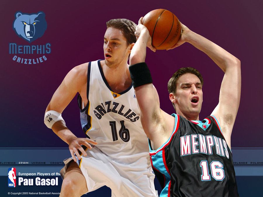 Pau Gasol Grizzlies Wallpaper