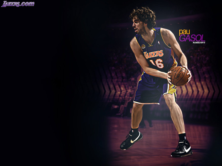 Pau Gasol LA Lakers Wallpaper