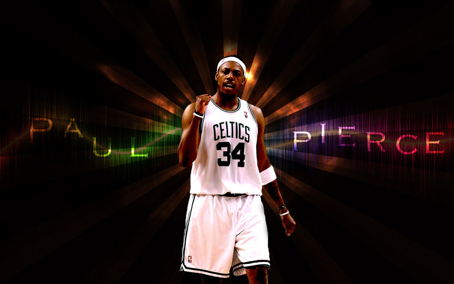 Paul Pierce 2010 Widescreen Uniform