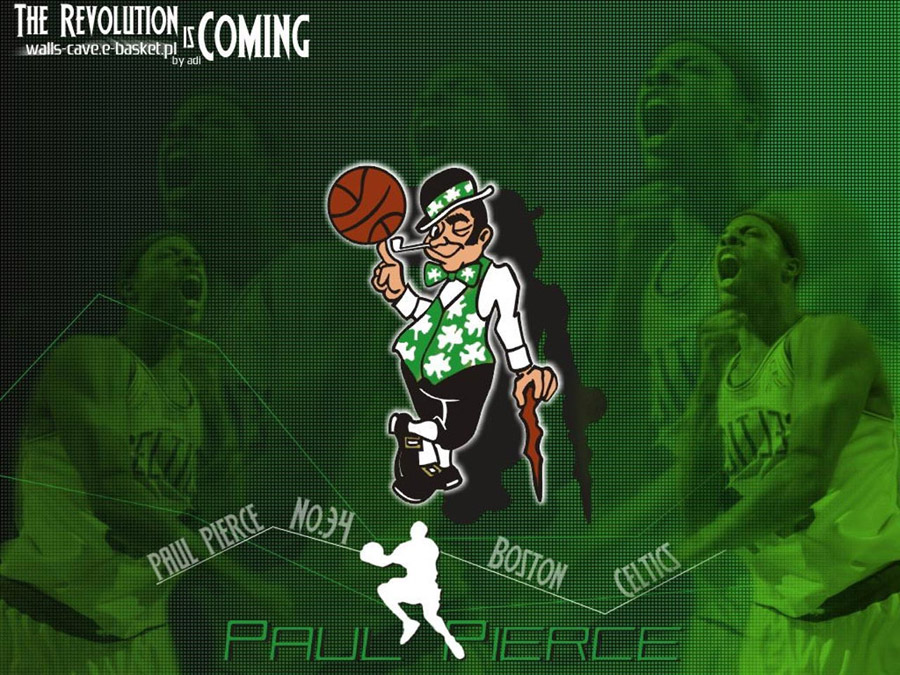 Paul Pierce Celtics Logo Wallpaper