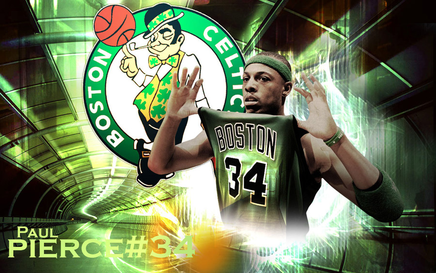 Paul Pierce Celtics Widescreen Wallpaper
