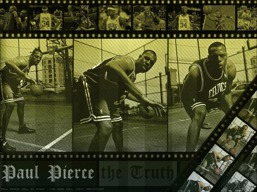 Paul Pierce Slideshow Wallpaper