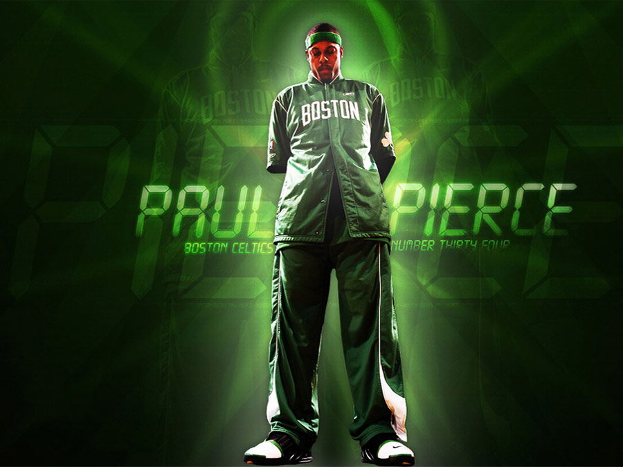 Paul Pierce in Celtics Uniform