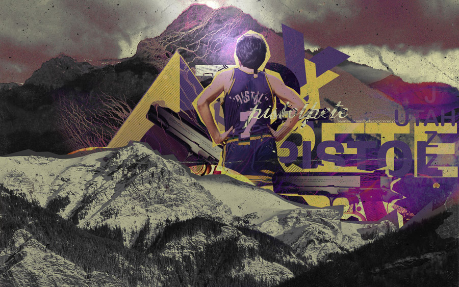 Pistol Pete Maravich Widescreen Wallpaper