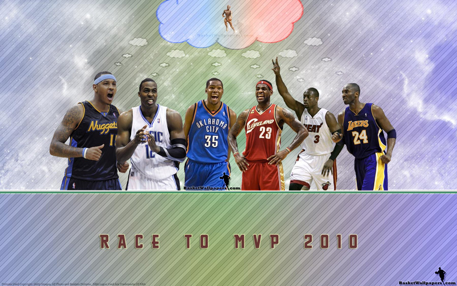 Race To NBA MVP 2010 Wallpaper