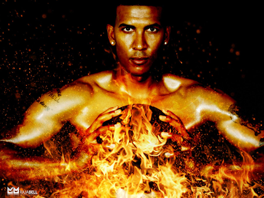 Raja Bell Burning Wallpaper