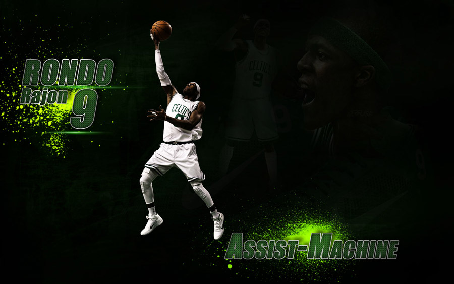 Rajon Rondo Assist Machine Widescreen Wallpaper