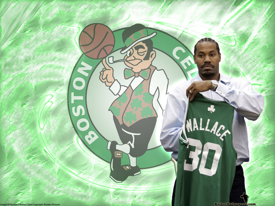 Rasheed Wallace Boston Celtics Wallpaper