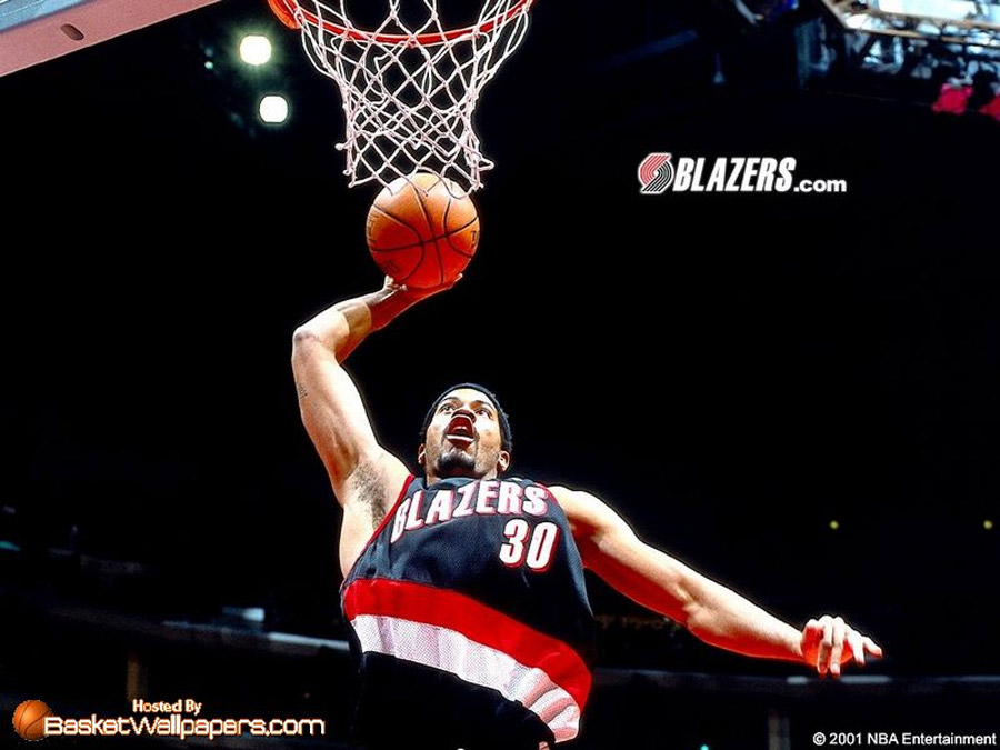 Rasheed Wallace Dunk