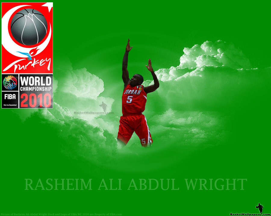 Rasheim Wright FIBA World Championship 2010 Wallpaper