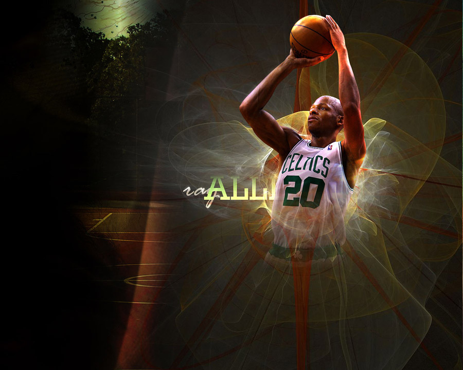 Ray Allen 1280x1024 Wallpaper