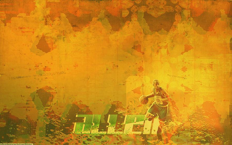 Ray Allen Celtics Widescreen Wallpaper