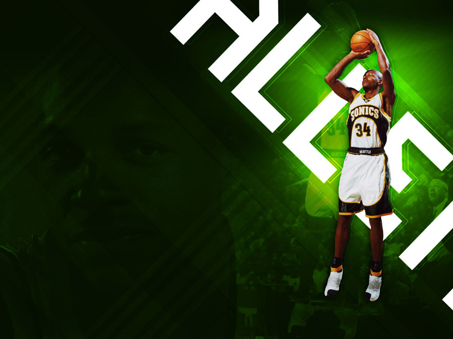 Ray Allen Shooting Wallpaper