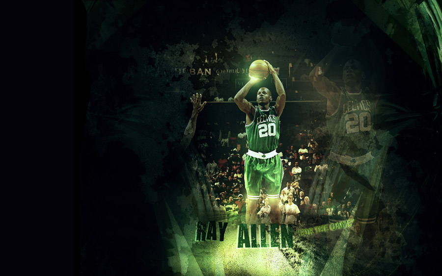 Ray Allen Widescreen Wallpaper