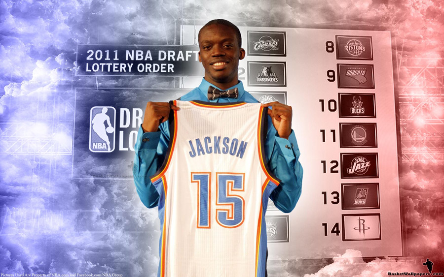 Reggie Jackson Oklahoma City Thunder Jersey Widescreen Wallpaper