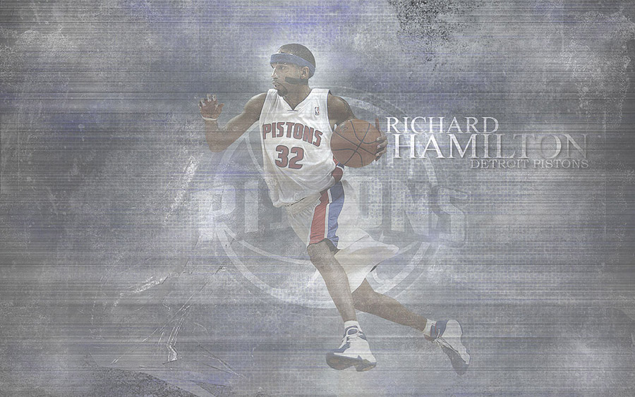 Richard Hamilton Dribbling Wallpaper