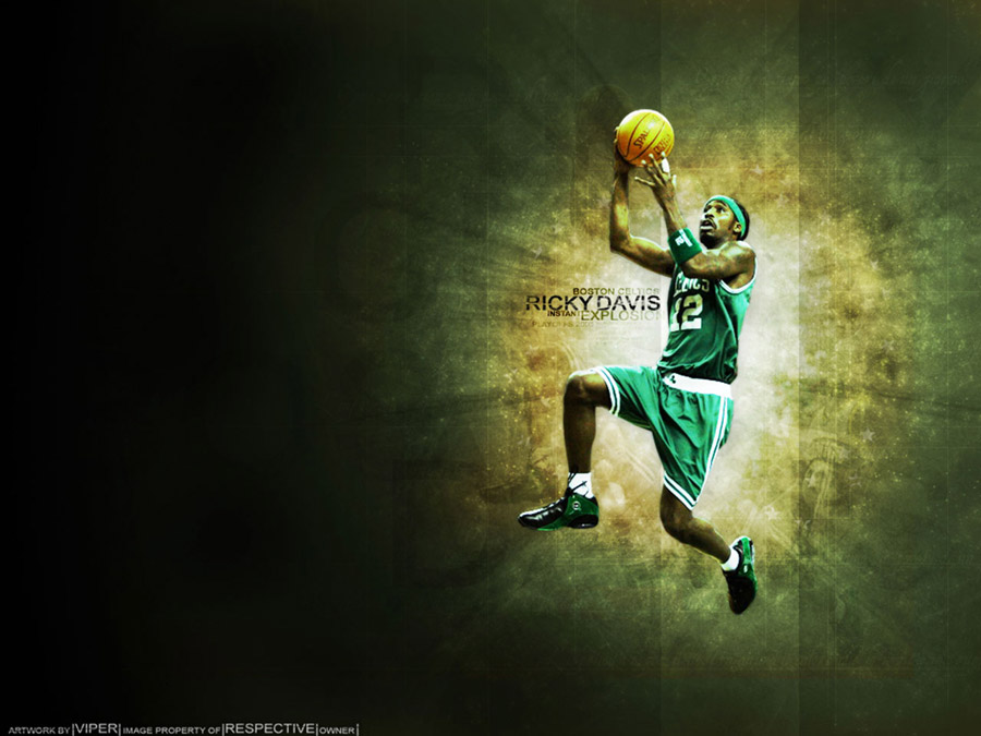Ricky Davis Celtics Wallpaper