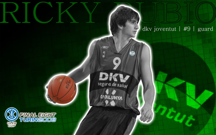 Ricky Rubio Joventut Widescreen Wallpaper