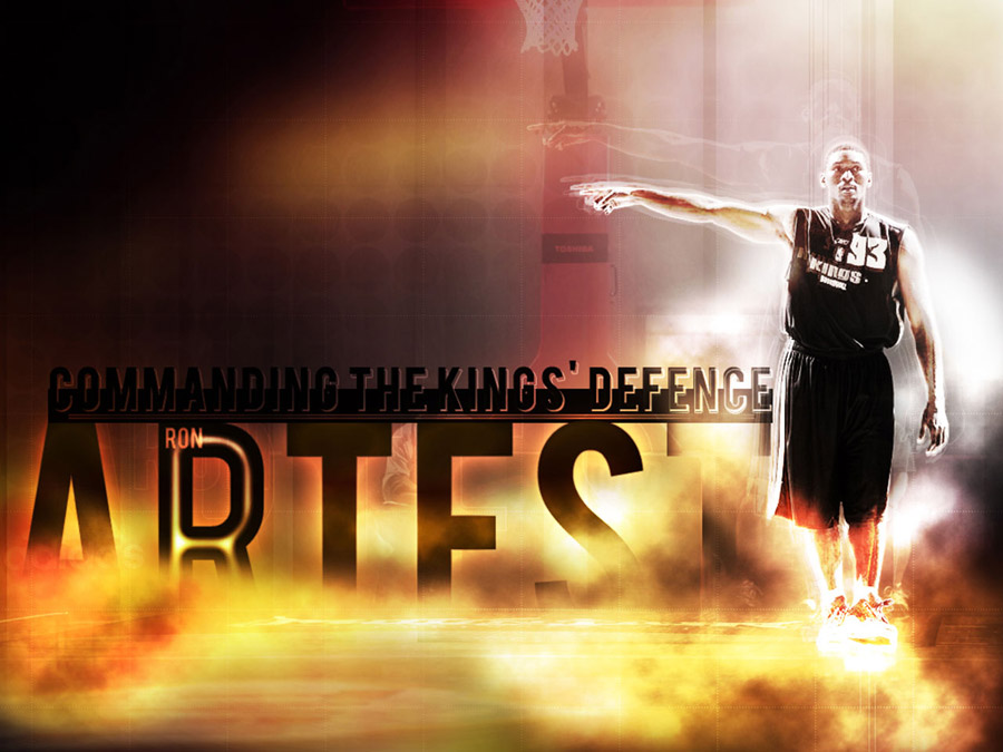 Ron Artest Kings Wallpaper