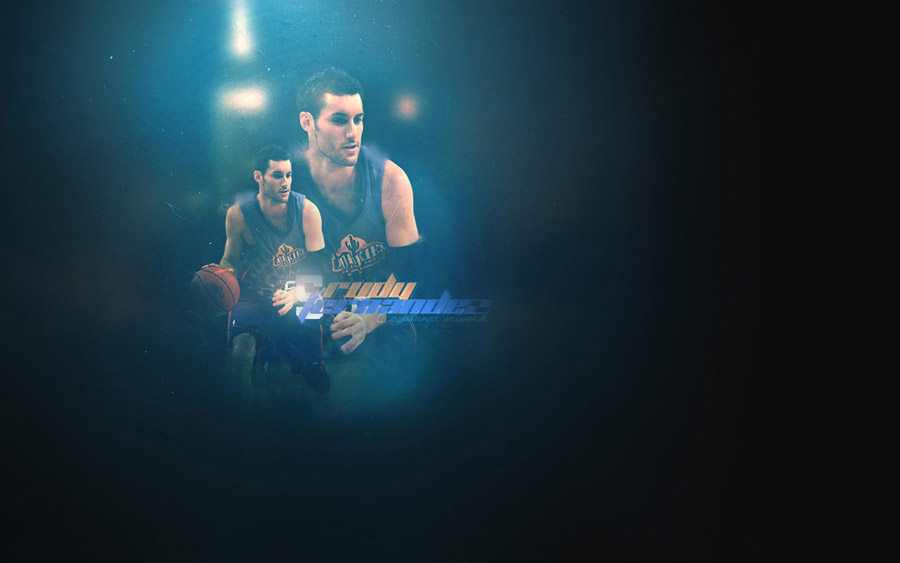 Rudy Fernandez Rookie Challenge Widescreen Wallpaper