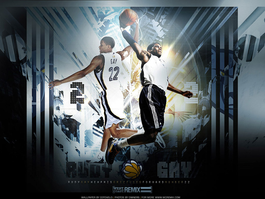 Rudy Gay Double Dunk Wallpaper