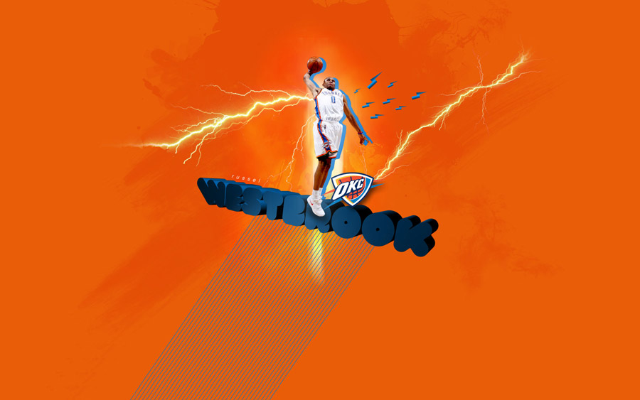 Russell Westbrook 1920x1200 Widescreen Wallpaper