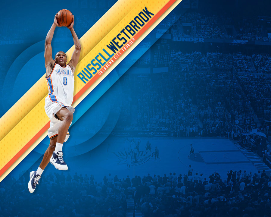 Russell Westbrook Dunk 1280x1024 Wallpaper