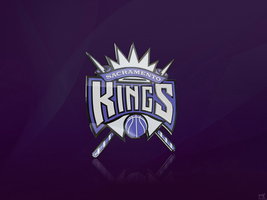 Sacramento Kings Logo 3D Wallpaper