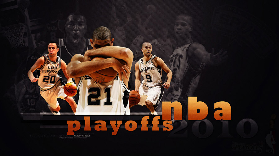 San Antonio Spurs NBA Playoffs 2010 Wallpaper