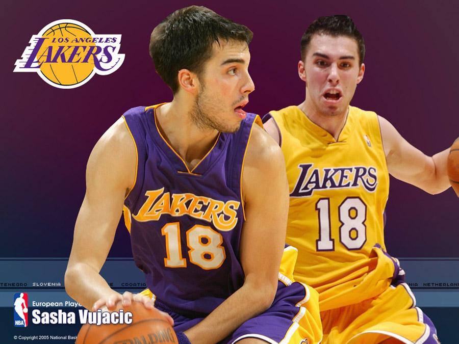 Sasha Vujacic LA Lakers Wallpaper