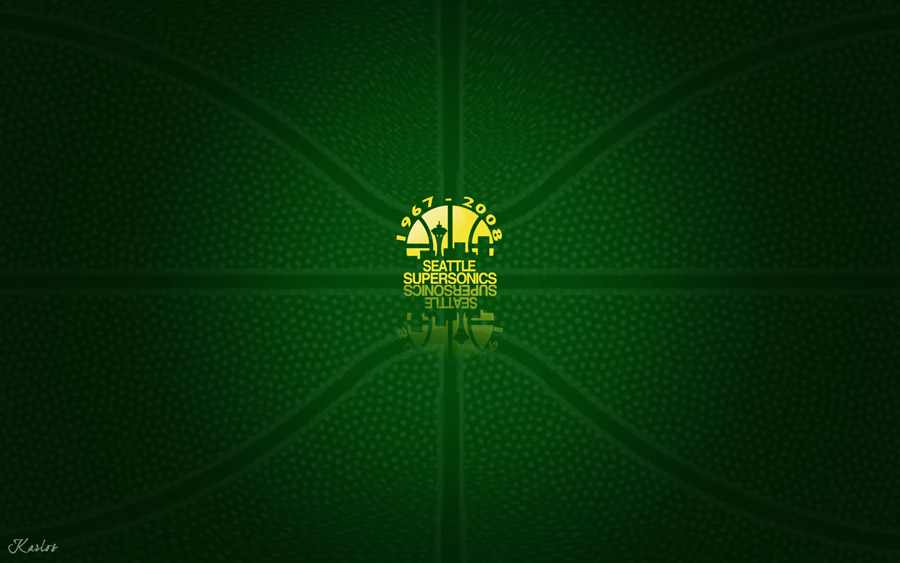 Seattle SuperSonics Widescreen Wallpaper