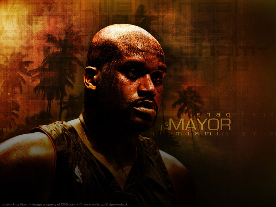 Shaquille O'Neal Heat Wallpaper
