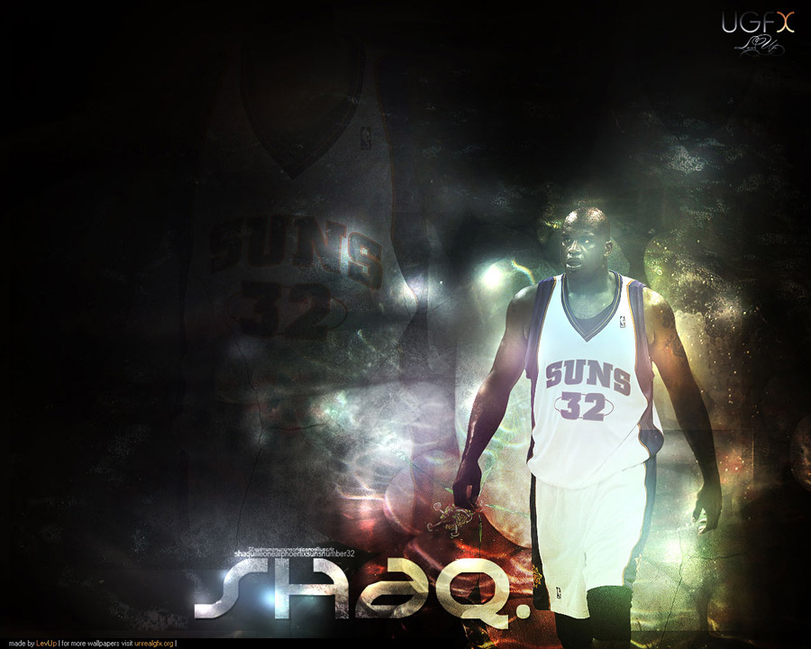 Shaquille O'Neal Suns Wallpaper