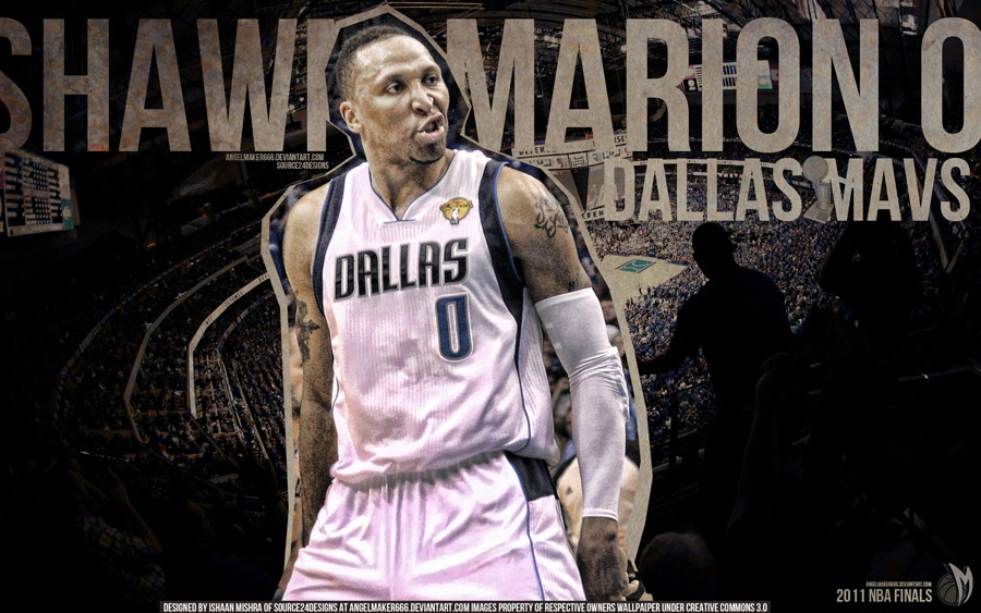Shawn Marion 2011 NBA Finals Widescreen Wallpaper