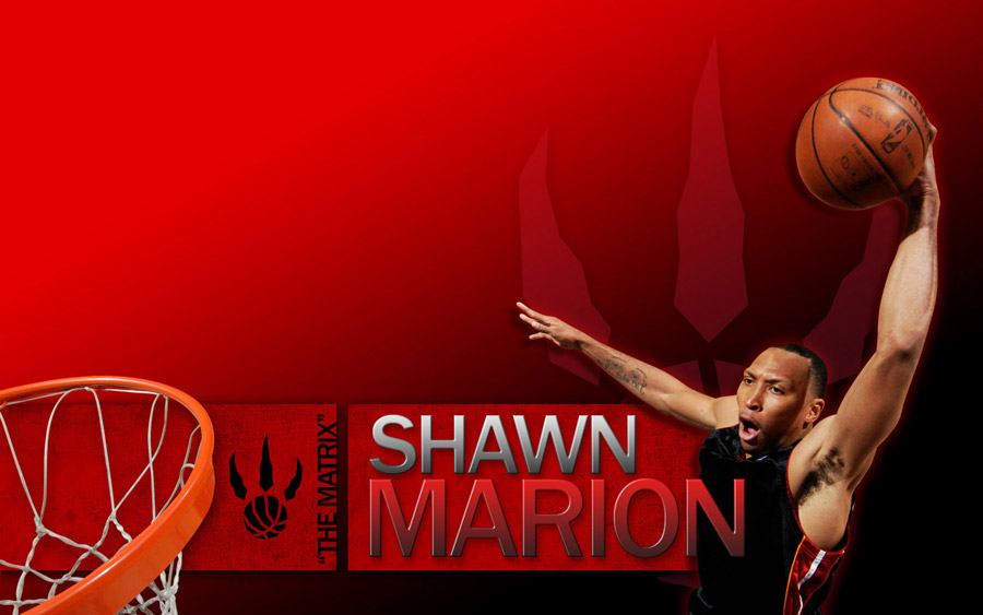 Shawn Marion Raptors Widescreen Wallpaper