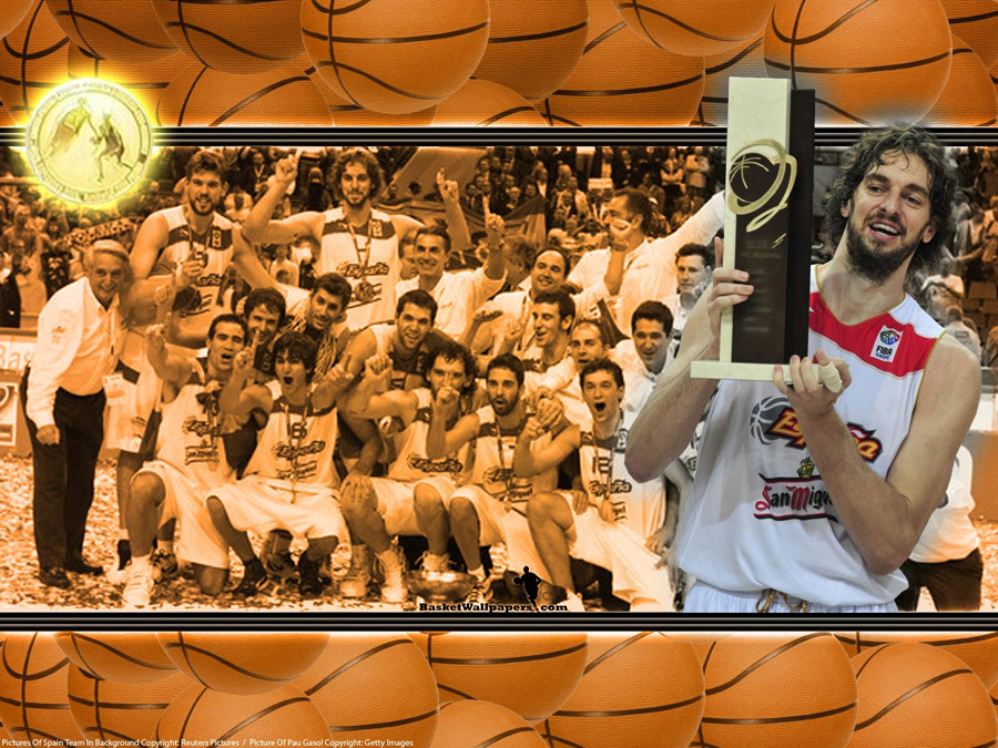 Spain Eurobasket 2009 Champions Wallpaper
