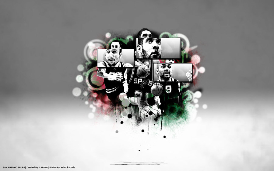 Spurs Big 3 1440x900 Wallpaper