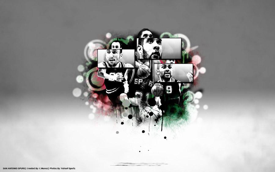 Spurs Big 3 1440x900 Wallpaper