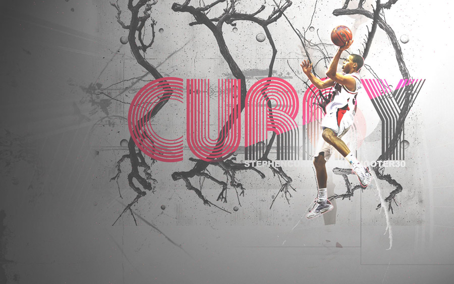 Stephen Curry Davidson Wildcats Widescreen Wallpaper