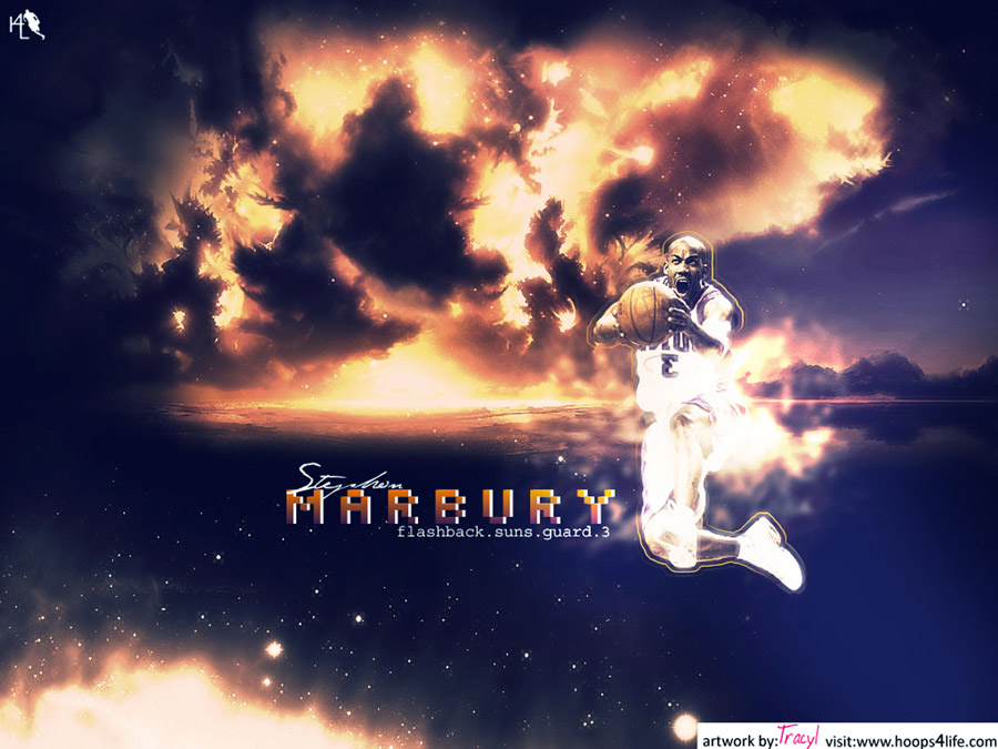 Stephon Marbury Suns Wallpaper