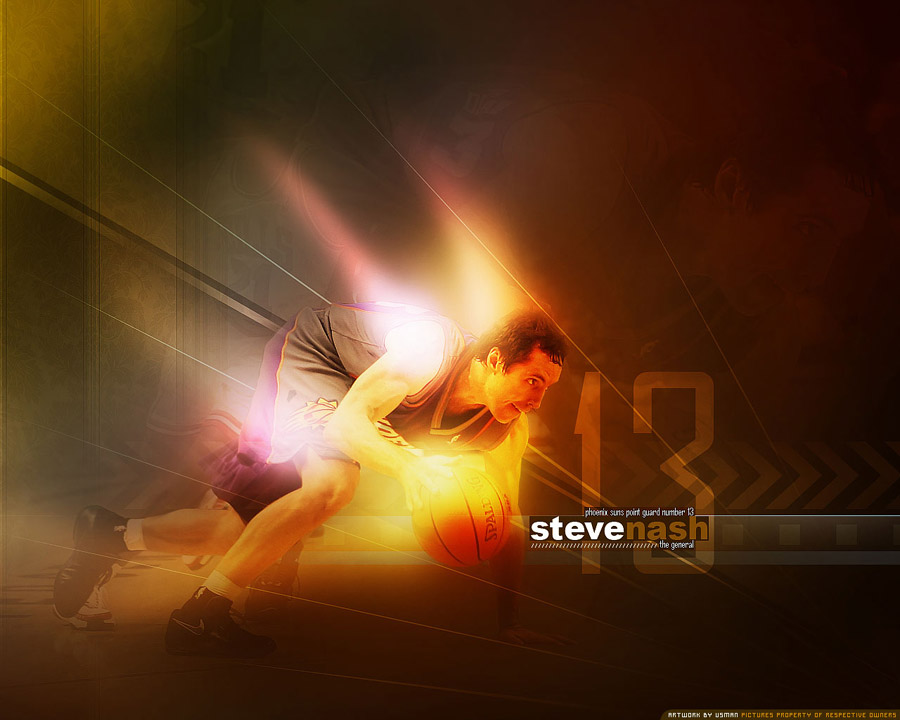 Steve Nash 1280x1024 Wallpaper