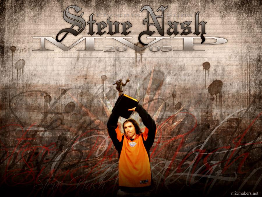 Steve Nash 2005 NBA MVP Wallpaper