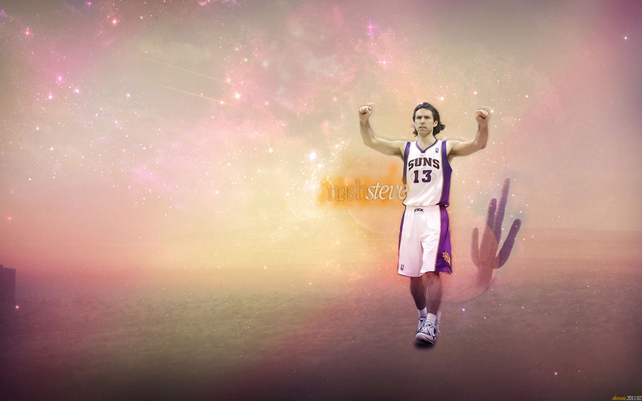 Steve Nash 2011 Widescreen Wallpaper