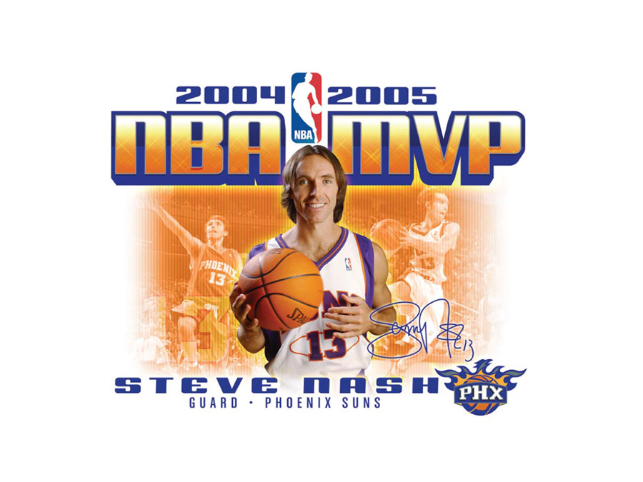 Steve Nash MVP Wallpaper