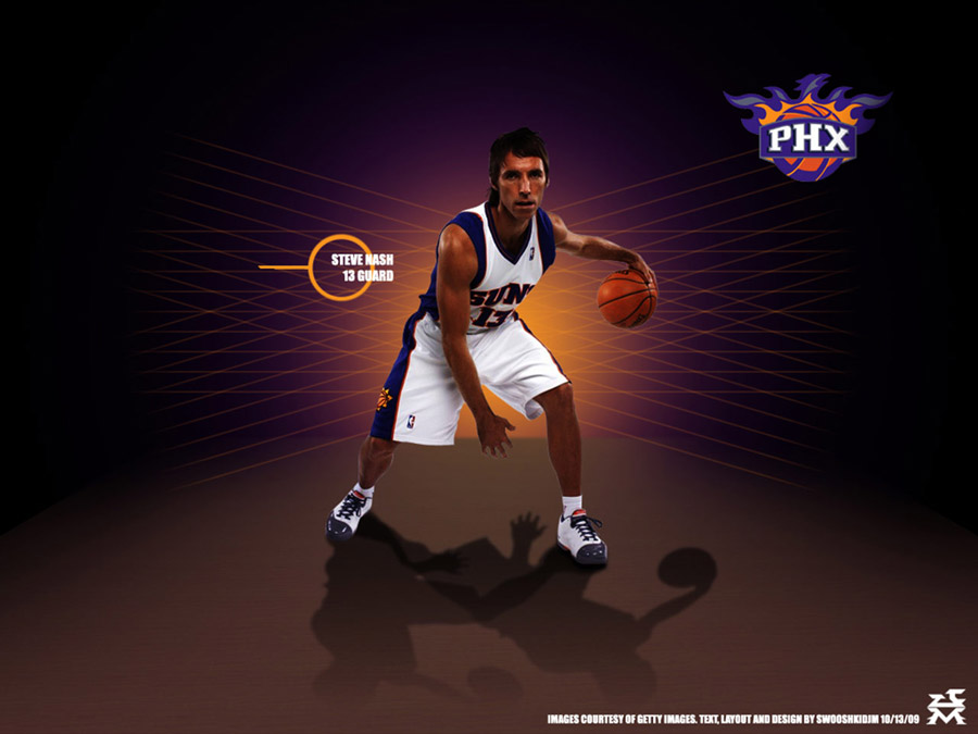 Steve Nash Phoenix Suns Wallpaper